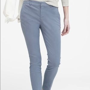 NWT Sz 8 BR Sloan Skinny-Fit Washable Chino Blue